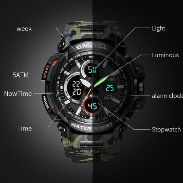 שעון צבאי לחיילים דגם 133
