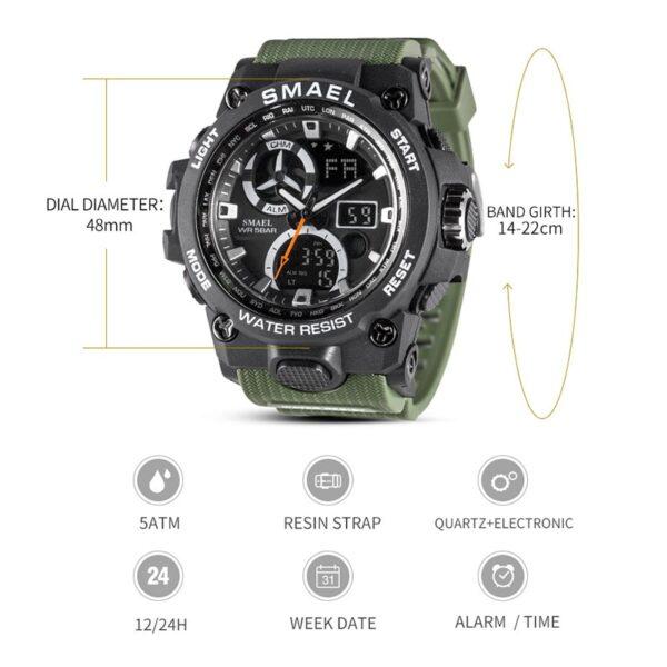 שעון צבאי לחיילים דגם 220