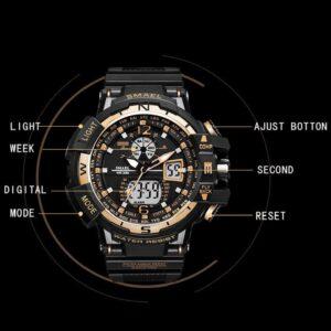 Waterproof montre homme Writswatch LED 300x300 - לנסוע ציוד למטיילים ומחנאות
