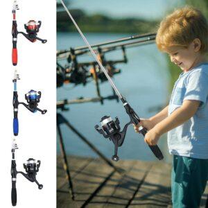 חכת דייג לילדים מקצועית דגם